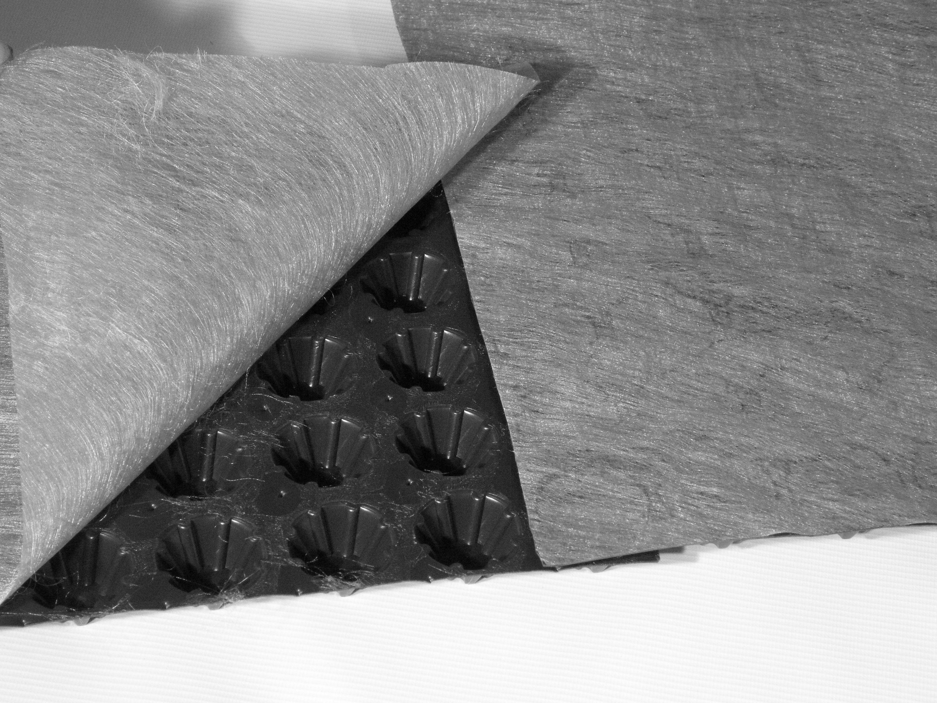 Greenfol Dren - zastosowanie geomembrany